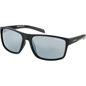Alpina Nacan I Okulary, black matt/black mirror